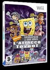 SpongeBob e i suoi amici: L'Attacco dei Toybot Wii cover (RN3X78)
