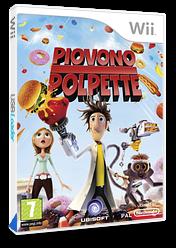 Piovono Polpette: Il Videogioco Wii cover (ROYP41)
