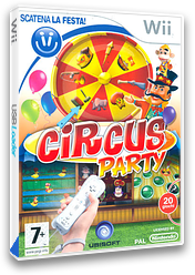 Circus Party Wii cover (RQKP41)