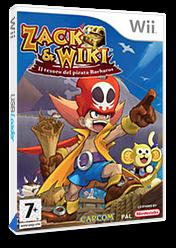 Zack & Wiki: Il Tesoro del Pirata Barbaros Wii cover (RTZP08)