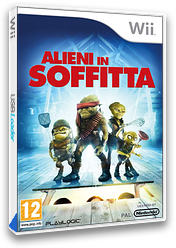 Alieni in soffitta Wii cover (RUOPPL)
