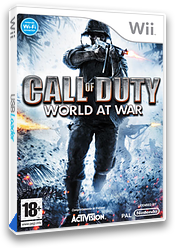 Call of Duty: World at War Wii cover (RVYY52)