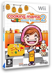 Cooking Mama 2: World Kitchen Wii cover (RWKPGT)