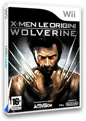 X-Men Le Origini: Wolverine Wii cover (RWUP52)