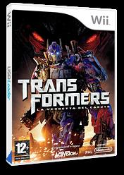 Transformers: La Vendetta del Caduto Wii cover (RXIP52)