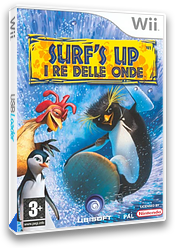 Surf's Up I Re delle Onde Wii cover (RXUX41)
