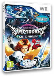 Spectrobes: Le Origini Wii cover (RXXP4Q)