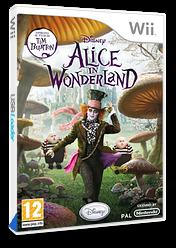 Alice nel Paese delle Meraviglie Wii cover (SALP4Q)