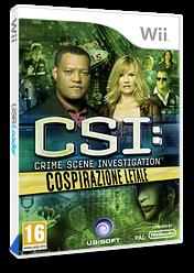 CSI:Cospirazione Letale Wii cover (SCIP41)