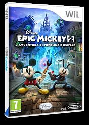 Disney Epic Mickey 2: L'avventura di Topolino e Oswald Wii cover (SERP4Q)