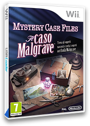 Mystery Case Files: Il Caso Malgrave Wii cover (SFIP01)