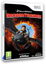 Dragon Trainer Wii cover (SHDP52)