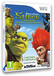 Shrek: E Vissero Felici E Contenti Wii cover (SK4P52)