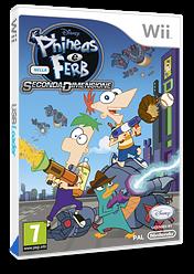 Phineas e Ferb:Nella Seconda Dimensione Wii cover (SMFP4Q)
