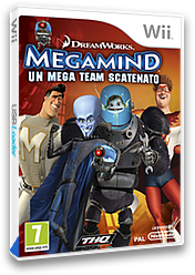 Megamind: Un Mega Team Scatenato Wii cover (SMGP78)