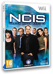 NCIS Wii cover (SNBP41)