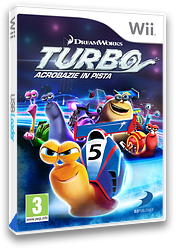 Turbo: Acrobazie In Pista Wii cover (SOSPAF)