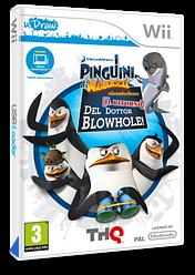 I Pinguini di Madagascar: Il Ritorno Del Dottor Blowhole! Wii cover (SP8P78)