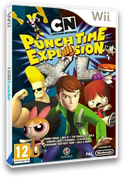 Cartoon Network: Punch Time Explosion XL Wii cover (SQLPGN)
