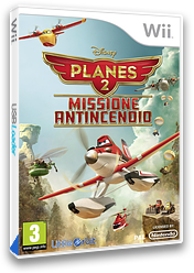 Disney Planes 2: Missione Antincendio Wii cover (SQQPVZ)
