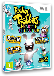 Raving Rabbids: Party Collection Wii cover (SR5P41)