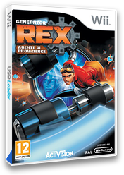 Generator Rex: Agente di Providence Wii cover (SRXP52)