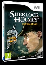 Sherlock Holmes:l'orecchino d'argento Wii cover (SSHPHH)