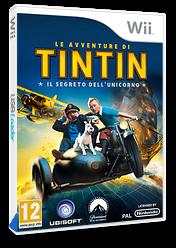 Le Avventure di Tintin: Il segreto dell'Unicorno Wii cover (STNP41)