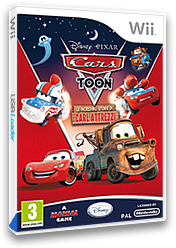 Cars Toon: Le Incredibili Storie di Carl Attrezzi Wii cover (STOP4Q)