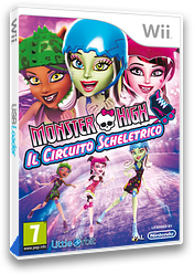 Monster High: Il Circuito Scheletrico Wii cover (SU5PVZ)