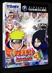 NARUTO-ナルト-激闘忍者大戦!4 GameCube cover (G4NJDA)