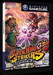 スーパーマリオストライカーズ GameCube cover (G4QJ01)