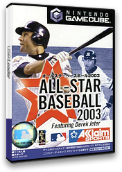 All-Star Baseball 2003 GameCube cover (GA3J51)
