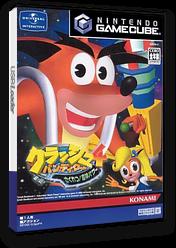 クラッシュ・バンディクー4 さくれつ!魔神パワー GameCube cover (GCBJA4)