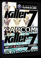 キラー7 GameCube cover (GK7J08)