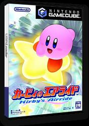カービィのエアライド GameCube cover (GKYJ01)