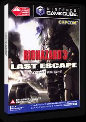 バイオハザード3:ラストエスケープ GameCube cover (GLEJ08)