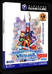 ファンタシースターオンライン エピソード1&2 GameCube cover (GPOJ8P)