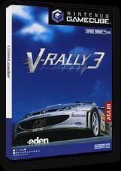 V-Rally 3 GameCube cover (GV3J70)