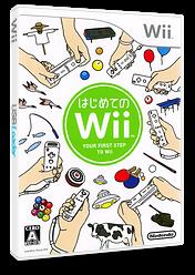 はじめてのWii Wii cover (RHAJ01)