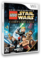 レゴ スター・ウォーズ コンプリート サーガ Wii cover (RLGJ52)