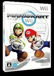 マリオカートWii Wii cover (RMCJ01)