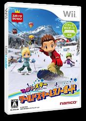 ファミリースキー ワールドスキー&スノーボード Wii cover (RYKJAF)