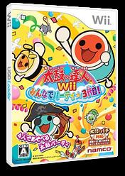 太鼓の達人Wii みんなでパーティ☆3代目! Wii cover (S3TJAF)