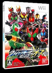 仮面ライダー クライマックスヒーローズ オーズ Wii cover (SCMJAF)