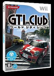GTI Club ワールド シティ レース Wii cover (SGIJA4)