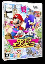 マリオ&ソニック AT ロンドンオリンピック Wii cover (SIIJ01)