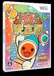 太鼓の達人Wii 決定版 Wii cover (STJJAF)