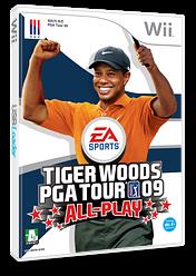 타이거 우즈 PGA Tour 09 ALL-PLAY Wii cover (R9TK69)