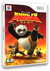 쿵푸팬더 Wii cover (RKPK52)